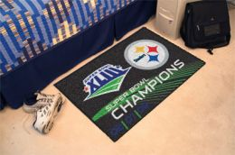 Pittsburgh Steelers Super Bowl Starter Door Mat