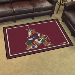 Arizona Coyotes Area Rug - 4' x 6' Nylon