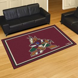 Arizona Coyotes Area Rug - Nylon 5' x 8'