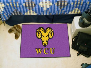 Westchester University Golden Ram Starter Doormat