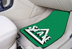Delta State University  2pc Printed Carpet Car Mat Set