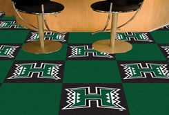 University of Hawaii Team Carpet Tiles