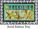 Indoor & Outdoor Jewels of the Sea MatMate Doormat-18x30