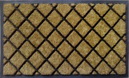 Lattice Dirtbuster Natural Coco Coir Doormat