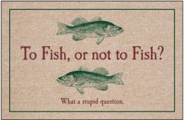 To Fish Or Not To Doormat