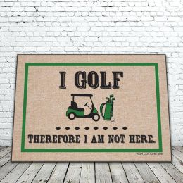 I golf Therefor Doormat