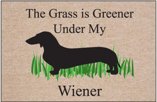 Greener Wiener Doormat