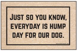 Olefin Indoor & Outdoor Doormat - Everyday is Hump Day