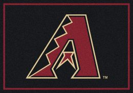 Arizona Diamondbacks Spirit MLB Baseball Logo Area Rug
