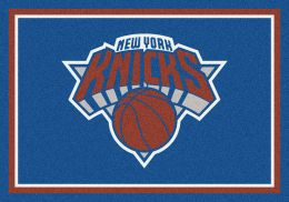 New York Knicks Spirit NBA Basketball Logo Area Rug