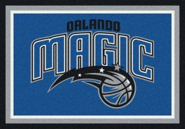 Orlando Magic Spirit NBA Basketball Logo Area Rug