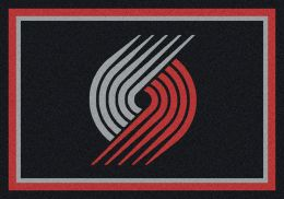 Portland Trail Blazers Spirit NBA Basketball Logo Area Rug