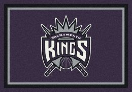 Sacramento Kings Spirit NBA Basketball Logo Area Rug