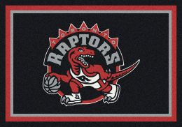 Toronto Raptors Spirit NBA Basketball Logo Area Rug