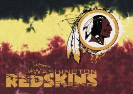 Washington Redskins Fade Logo Area Rug - NFL Football Mat