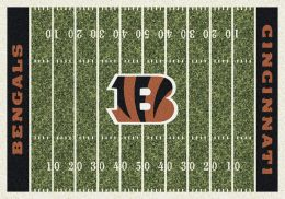 Cincinnati Bengals Home Field Area Rug - NFL Football Logo