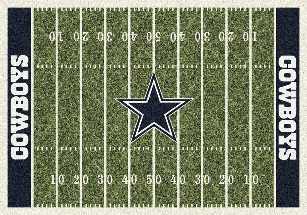 Dallas Cowboys Home Field Area Rug Nfl Football Logo