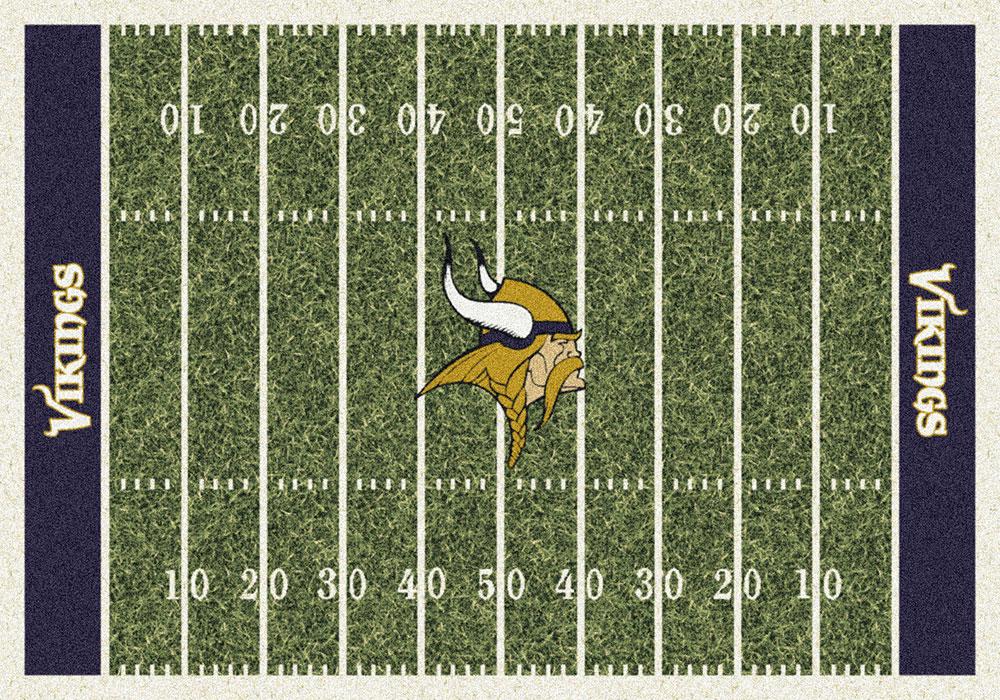 Minnesota Vikings Home Field Area Rug Nfl Football Logo
