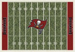 Tampa Bay Buccaneers Home Field Area Rug - NFL Football Logo