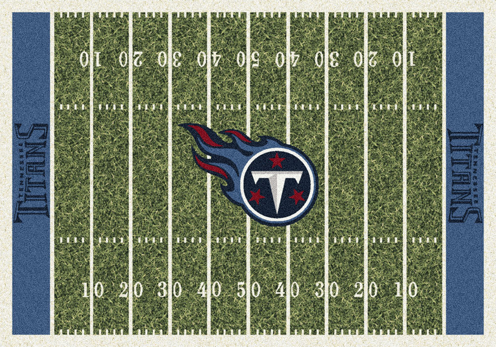 Tennesseee Titans Home Field Area Rug Nfl Football Logo