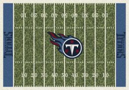 Tennesseee Titans Home Field Area Rug - NFL Football Logo
