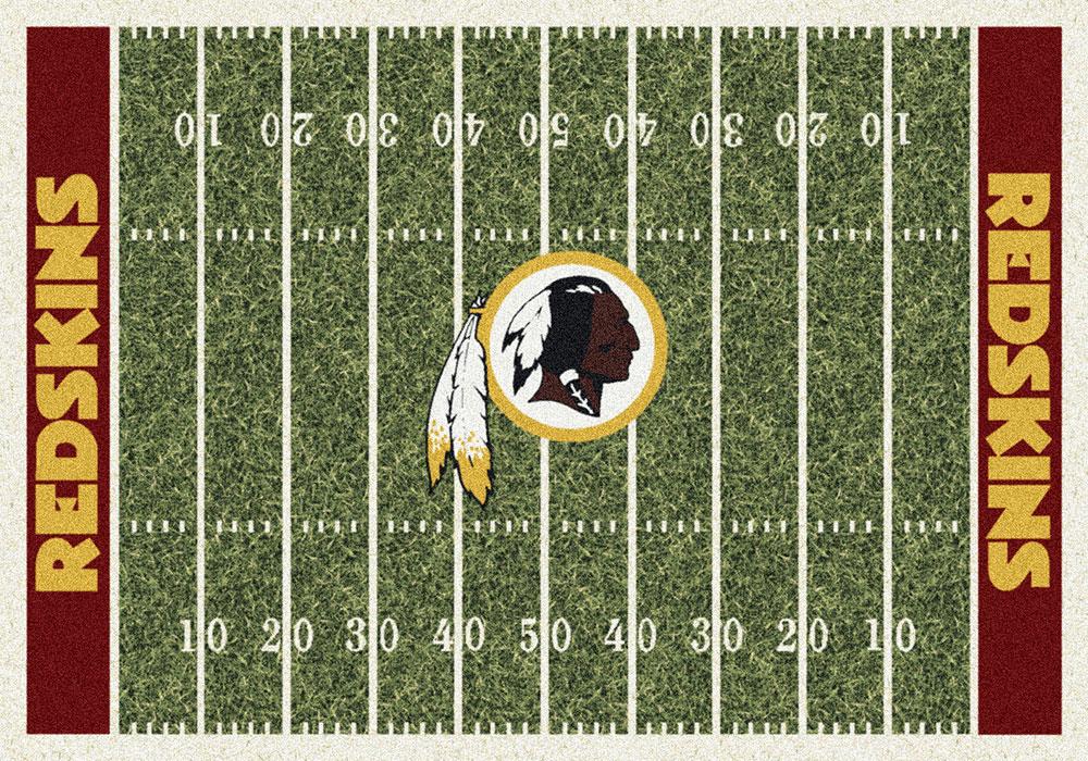 Washington Redskins Home Field Area Rug Nfl Football Logo