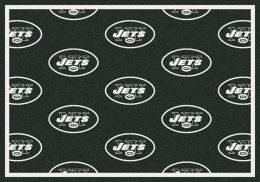 New York Jets Reapeting Logo Area Rug