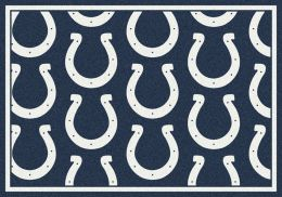 Indianapolis Colts Reapeting Logo Area Rug