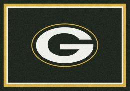 Green Bay Packers Spirit Area Rug - NFL Football Mat