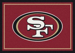 San Francisco 49ers Spirit Area Rug - NFL Football Mat