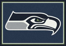 Seattle Seahawks Spirit Area Rug - NFL Football Mat