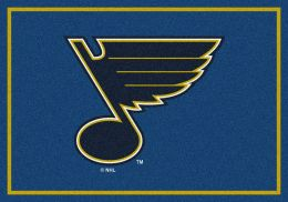 St Louis Blues Spirit Area Rug - NHL Hockey Logo