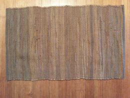 Basic Woven Rag Rug-Brown