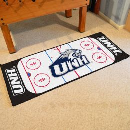 New Hampshire  Wildcats Rink Runner Mat - 29x72