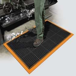 Safety Tru-Tread Heavy Duty Colored borders Wet Area Mat
