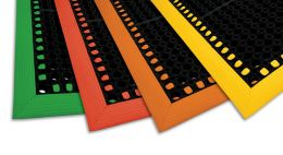 Safety Tru-Tread w/GritTuff Colored Borders Wet Area Mat
