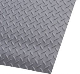 Switchboard Diamond Deckplate PVC Surface Runner Mat