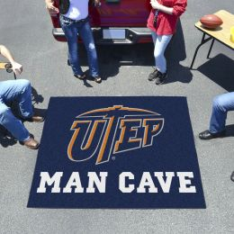 UTEP Miners Man Cave Tailgater Mat – 60 x 72