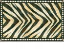 Indoor & Outdoor MatMates Pattern Doormat - Zebra