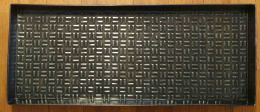 Checkerboard Boot or Plant Tray - Zinc