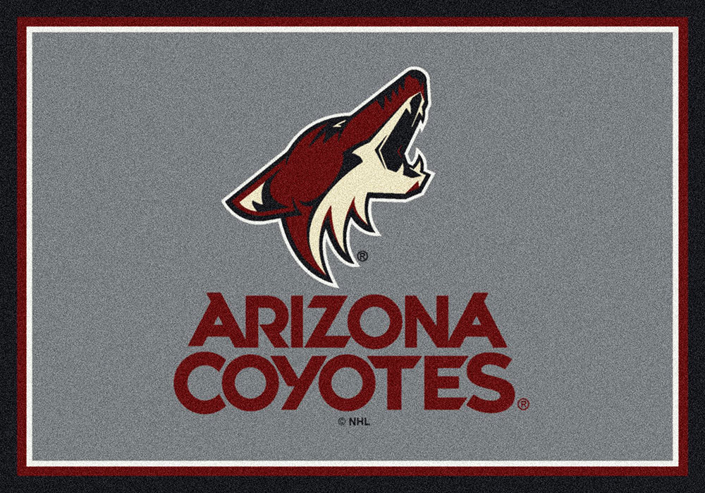 newest 5a83b 85f67 Phoenix Coyotes Spirit Area Rug - NHL Hockey Logo