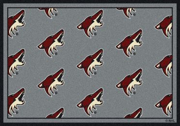 Phoenix Coyotes NHL Repeating Logo Nylon Area Rug