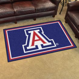 Arizona University Area Rug - 4 x 6 Nylon