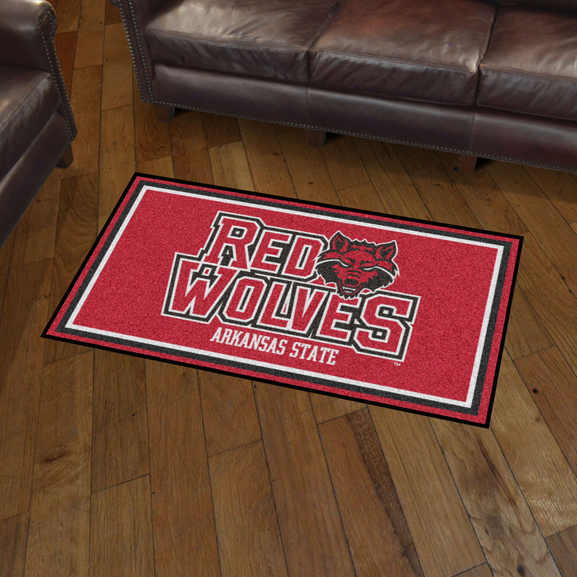 Arkansas State University Area rug - 3' x 5' Nylon