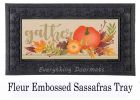 Autumn Gather Sassafras Mat - 10 x 22 Insert Doormat