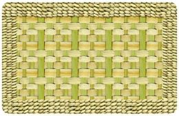 FoFlor Basketweave Unique Rug - Doormat, Runner