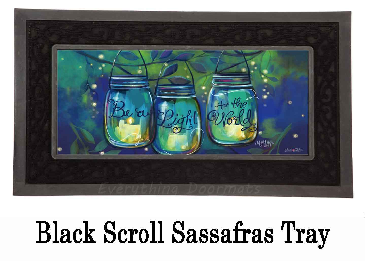 Sassafras Be A Light Switch Mat 10 X 22 Insert Doormat