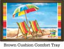 Indoor & Outdoor Beach Chairs Insert Doormat - 18 x 30