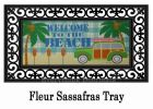 Sassafras Beach Welcome Mat - 10 x 22 Insert Doormat