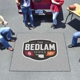 Bedlam Series Tailgater Area Mat - OSU & OU Football Rivalry